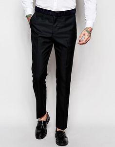 ASOS | ASOS - Pantalon de smoking slim