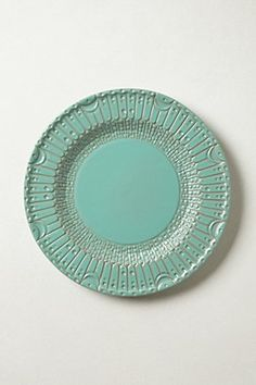 Anatolia Dinner Plate from Anthropologie, Like it in the white as well