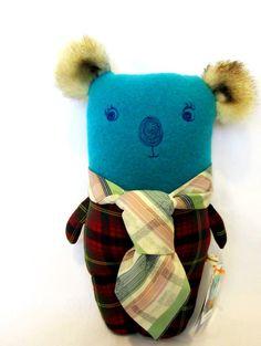 Bertie Koala Bear by alittlevintagestore on Etsy, $42.00
