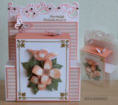 Marianne Design, Trap, Decorative Boxes, Paper Crafts, Gift Wrapping, Joy, Cards, Gifts, Gift Wrapping Paper