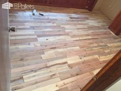 Pallet flooring everything you need to know pallet floors wood pallet wood floors two ways pallet flooring solutioingenieria Image collections