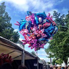 """@krhafl's photo: """"#martna#trondheim#helium#ballong#heliumballong#visittrondheim#blåhimmel#bluesky#hvaskjeritrondheim#visittøndelag#balloon"""""""