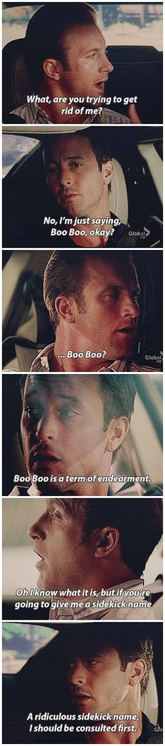 simply put steve - you need his permission before you do anything # MCDANNO # 3.01 # BOO BOO