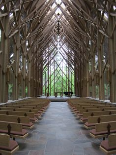 I have done a beautiful wedding here glass chapel in the woods... too bad its in arkansass