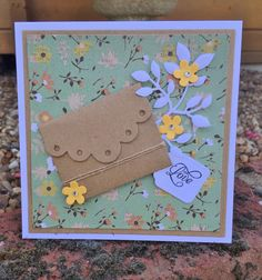 Friday Dye Day card by Christine Emberson featuring the Deco Edge Envelope by Tammy Tutterow and Spellbinders.