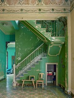 michael eastman photo, cuba by shauna Dream Home Design, My Dream Home, Interior Exterior, Interior Architecture, Aesthetic Rooms, House Goals, Dream Rooms, Future House, Interior Decorating