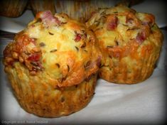 DSCN4037 Easy Breakfast Muffins, Healthy Muffins, Finger Food Appetizers, Appetizer Recipes, Baby Food Recipes, Cooking Recipes, Good Food, Yummy Food, Bacon