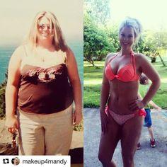 IG InspirWeighTion via @makeup4mandy ✨Visit TheWeighWeWere.com to read full weight loss stories!✨ #weightlossjourney #nsv #nonscalevictory #weightlossmotivation #weightlosstransformation #foodprep #