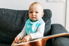 I'll rock this day with my guitar gently wheeping and Nikitony baby bibdana :) #nikitonybaby #babiesofinstagram #babiesofinsta #instababies #bandanabib