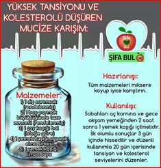 Yüksek tansiyon için High Blood Pressure, Diet And Nutrition, Diet Recipes, Food And Drink, Health Fitness, Blog, Therapy, Weight Loss, Homemade