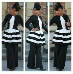 Official Corporate Chic...so much life in her style...