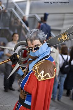 Auron, from Final Fantasy X
