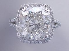 8 33 Carat Ct TW Cushion Cut Diamond