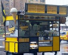 Wafel & Dinges food truck in NYC