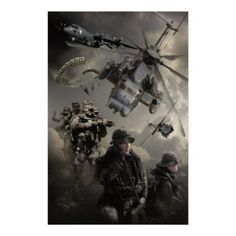 Combat Commandos Poster   Click to see customizable #USMC items: http://www.zazzle.com/military_insignia/gifts?cg=196791433876699910&rf=238756979555966366&tc=PinFMSsig