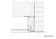 Stamp Window - DMOA architects Window Detail, Door Detail, Architecture Drawings, Architecture Details, Construction, Detailed Drawings, Brick, Stamp, Windows