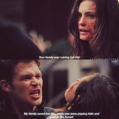 """You Hung the Moon"" - Hayley and Klaus favorite scene ever Serie Vampire Diaries, Vampire Diaries Quotes, Vampire Diaries The Originals, Hayley And Klaus, Klaus And Hope, The Mikaelsons, The Cw, The Orignals, Vampier Diaries"