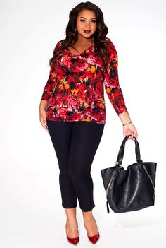 Warm colors and floral patterns.