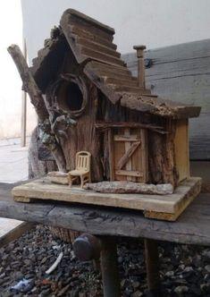Crooked Whimsical Birdhouse By Crooked Lumberjocks Com