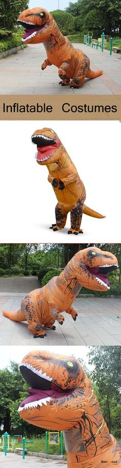 US$47.39 + Free shipping. Dinosaur Hot Adult Halloween Costumes Inflatable Costumes Air Blowing Up Clothes Funny Costumes. Great fun to play in the garden, home party, birthday party, cosplay party, Halloween party,etc >>> To view further, visit now.