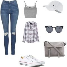 A fashion look from April 2016 featuring Rails tops, Topshop tops and Topshop jeans. Browse and shop related looks.