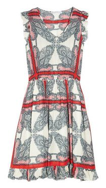 PAUL & JOE SISTER  Karla paisley-print voile dress