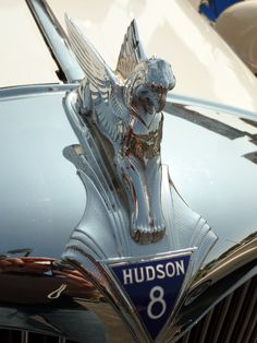 Hudson 8 hood ornament...Re-pin Brought to you by agents at #HouseofInsurance in #EugeneOregon for #LowCostInsurance
