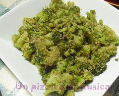 Broccoli saltati con acciughe e pangrattato