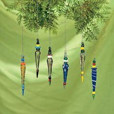 Multicolor Icicle Ornaments - TerrysVillage.com
