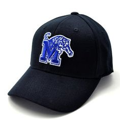 dff5c7aa04c860 Memphis Black Premium FlexFit Baseball Hat by Top of the World. $16.94.  This hat