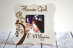 Hey, I found this really awesome Etsy listing at https://www.etsy.com/listing/247240661/flower-girl-gift-flower-girl-frame