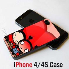 Pucca Falling in love Garu iPhone 4 4S Case