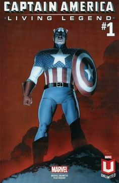Captain America: Living Legend # 1 (Variant) by John Cassaday