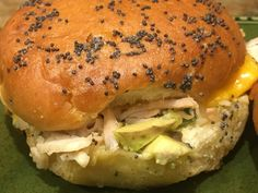 Warm Turkey Sliders, made from a whole turkey breast cooked in the slow cooker or an electric pressure cooker, make for some easy delicious game day food! Baked Turkey, Turkey Bacon, Creamy Pesto Sauce, Turkey Sliders, Fun Appetizers, Slider Sandwiches, How To Make Turkey, Whole Turkey, Bacon Avocado