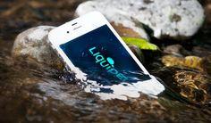 Hmmm... so many ways to waterproof your phone! Liquipel anyone?