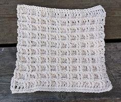 virkad disktrasa / crochet dish cloth