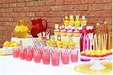 Image Detail for - Swanky Tables: Ballet Party Dessert Table