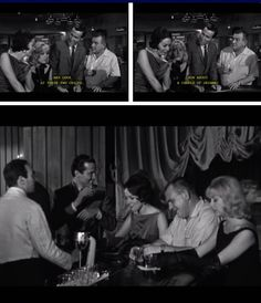 Johnny Cool (1963) Part IV…Johnny Cool uses the bar in order to keep setting the traps up