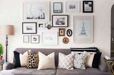 We spend most of our time at home in the living room. But not all of us organize living-room stuff well. Here are some ideas for your apartment living room. Wall E, Frames On Wall, Diy Wall Decor, Diy Home Decor, Wall Decorations, Bohemian Style Bedrooms, Apartment Living, Apartment Ideas, Living Room Decor