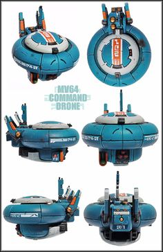 MV64 Tau Command Drone by Proiteus on DeviantArt