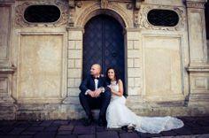 Our Bride beutiful Monika in Justin Alexander dress, syle no. 8530.
