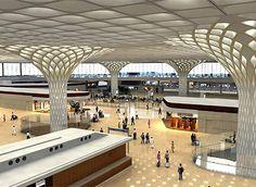 Mumbai Chhatrapati Shivaji International Airport Terminal 2 - Skidmore, Owings & Merrill (2014)