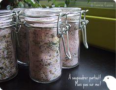 Sel aromatisé à la méditerranéenne - Jasmine Cuisine