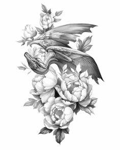 Cute Hand Tattoos, Mini Tattoos, Body Art Tattoos, Small Tattoos, Sleeve Tattoos, Simbolos Tattoo, Tattoo Now, Dragon Tattoo For Women, Dragon Tattoo Designs
