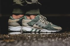 adidas Originals EQT Support RF Trace Green Solid Grey