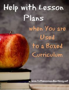 Help with Lesson Plans When You're Used to a Boxed Curriculum {A Review and Giveaway!} - To the Moon and Back (scheduled via http://www.tailwindapp.com?utm_source=pinterest&utm_medium=twpin&utm_content=post660079&utm_campaign=scheduler_attribution)