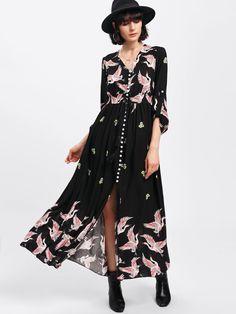 Button+Up+Front+Tassel+Drawstring+Dress+37.00