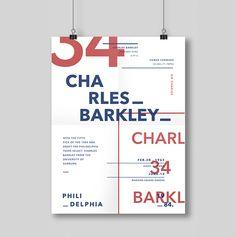 Type Posters x 1984 NBA Draft on Behance