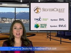 SilverCrest Mines, which trades on the TSX Venture Exchange, under the symbol SVL (NYSE MKT:SVLC), has announced record 3rd quarter silver production at its Santa Elena Mine in Mexico. Record silver production of 202,736 ounces was an increase of 4% over the second quarter.