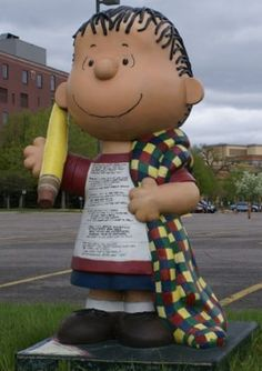 "Saint Paul, Minnesota - Peanuts on Parade 'Linus Blankets Saint Paul'  2003 - ""Limericks By Linus"""